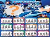 Calendário 2022 Megaman Montagens com Fotos