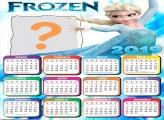 Calendário 2019 Princesa Elsa