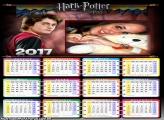 Calendário 2017 Harry Potter Bruxo