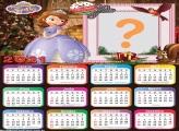Calendário 2021 Princesinha Sofia no Natal