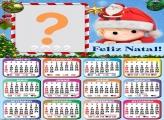 Calendário 2022 Natal Menino Noel Online
