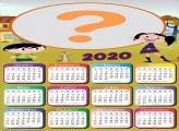 Calendário 2020 Personalizado Show da Luna