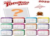 Calendário 2020 Toddynha sua Dia dos Namorados