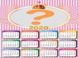Calendário 2020 Realeza Meninas