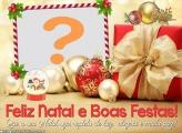 Natal Repleto de Luz e Boas Festas Colagem de Foto