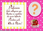 Professora Fada Milagrosa Moldura