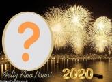 Foto Montagem Feliz Ano Novo 2020
