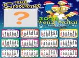 Calendário 2022 Natal Os Simpsons Grátis
