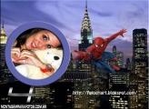 SpiderMan na Cidade Moldura
