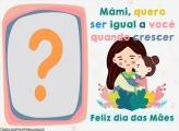 Montagem de Foto Online Dia das Mámi
