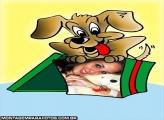 Moldura Presente de Cão