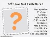 Professor Parabéns pelo seu Dia