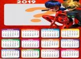 Calendário 2019 da Ladybug e Catnoir