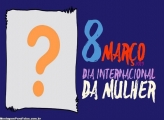 Colagem de Foto Dia da Mulher 8 de Março