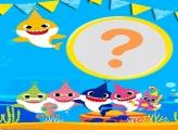 Aniversário Baby Shark Moldura