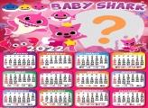 Calendário 2022 Baby Shark Meninas Online