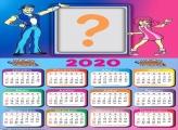 Moldura Infantil Calendário 2020 Lazy Town