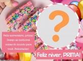 Feliz Aniversário para Prima Colagem Online
