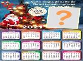 Foto com Calendário 2021 Magia de Natal