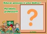 Parabéns Professor FotoMoldura