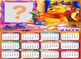 Calendário 2019 Pooh Brinquedos