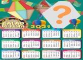 Calendário 2021 Balão de Festa Junina