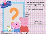 Convite Peppa Pig Digital