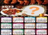 Calendário 2022 Churrasco Online