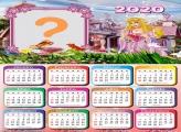 Calendário 2020 da Aurora Princesa Disney