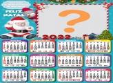Calendário 2022 Papai Noel Baby Gratuito Online