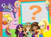 Polly Pocket Moldura Simples