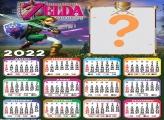 Calendário 2022 Zelda Montagem Grátis