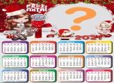 Calendário com foto 2021 Jolie de Natal