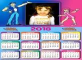 Calendário 2018 Desenho LazyTown