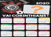 Calendário 2020 Corinthians Foto Montagem