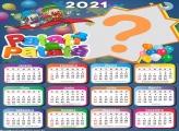 Calendário 2021 Patati Patatá com Foto