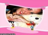 Moldura Love Love Mickey Minie