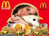 Moldura Sanduiches McDonalds