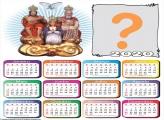 Calendário 2020 Divino Pai Eterno Personalizado