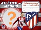 Convite Atlético de Madrid