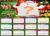 Calendário Mês a Mês 2021 Papai Noel