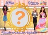 Moldura Páscoa da Barbie