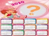 Montar Calendário 2020 da Moranguinho