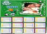 Calendário 2017 do Palmeiras
