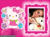 Hello Kitty Rosa Pink Moldura