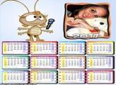Calendário 2017 Dona Baratinha