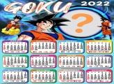 Calendário 2022 Goku Dragon Ball Criar Grátis