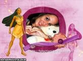 Desenho Pocahontas Brilhos