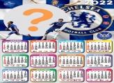 Colar Imagem Calendário 2022 Chelsea