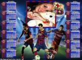 Calendário 2017 Neymar Barcelona